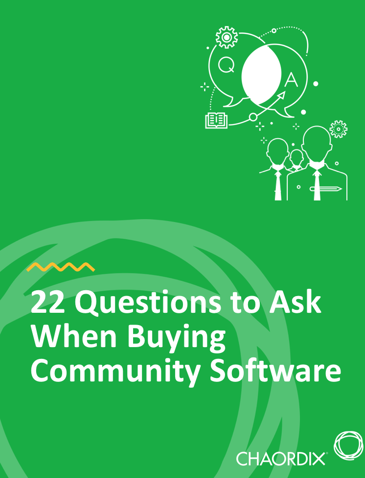 Buying guide for community software